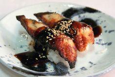 https://flic.kr/p/aE9o2H   Eel Sushi at Hamasaku