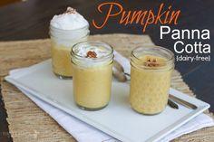 Pumpkin Panna Cotta (dairy-free)