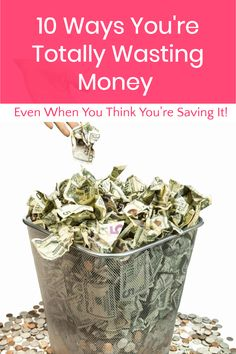 10 Ways You're Wasting Money (Even When You Think You're Saving It) - Pretty Opinionated Money Saving Meals, Money Savers, Financial Tips, Financial Planning, Ways To Save Money, How To Make Money, Budget Help, Grow Your Own Food, Budgeting Money