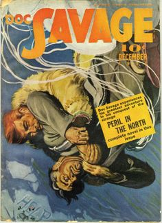 Doc Savage December 1941  Emery Clarke Cover
