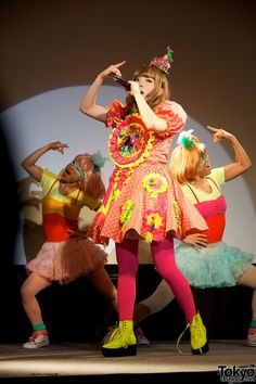 Charlie loves loud colors. Kyary Pamyu Pamyu Harajuku Kawaii Ambassador
