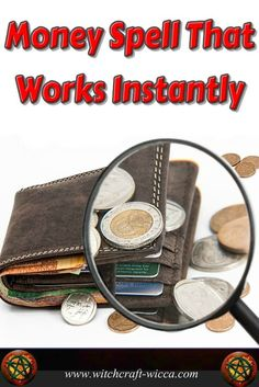 Money Spell That Works Instantly simple money spells