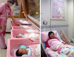 Hello Kitty Maternity Ward! @Claire Fogleman