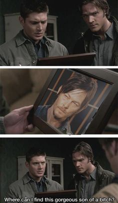 Even Dean Winchester is impressed with Daryl Dixon.