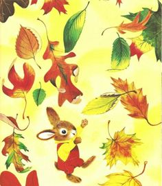 bunny leaves - Richard Scarry