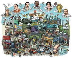 Rok 2013 w infografice - podsumowanie - najciekawsze infografiki => Infografika.co
