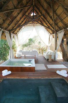 Royal Zambezi Lodge: Bush spa, Lower Zambezi National Park, Zambia