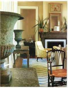 New Orleans' Patrick Dunne, owner of Lucullus, was involved with the decoration of this house Decor, Living Room Inspiration, Room Inspiration, New Orleans Homes, Beautiful Interiors, French Decor, Interior Design, Home Decor, Living Area Design