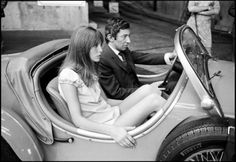 Jane Birkin & Serge Gainsbourg Couple Love