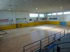 L'intervento di posa del nuovo parquet sportivo in faggio in provincia di Torino ha riguardato circa 620 metri quadri di superficie
