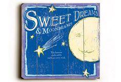 Sweet Dreams & Moonbeams     The heavens smile softly and hear every wish
