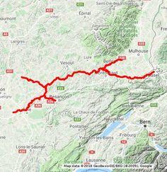 bourgogne franche-comté Lausanne, Map, Santiago De Compostela, Natural Park, Location Map, Maps
