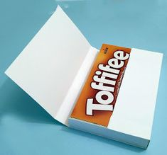 Craft&You Design - Toffifee-eske med tutorial Diy Gift Box, Gift Boxes, Diy And Crafts, Paper Crafts, Exploding Boxes, 3d Cards, Chocolate Box, Design Crafts, Mini Albums