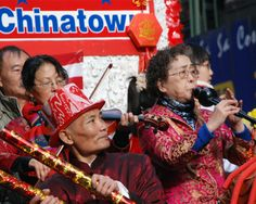 Musicians http://thecaffeinateddaytripper.com/2013/12/13/how-you-too-can-accidentally-celebrate-at-the-chinese-lunar-new-year-parade-in-nyc/