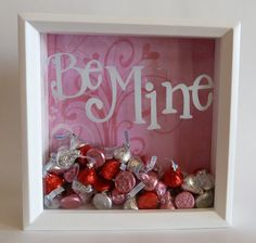 Valentine's Day shadow box!!! Cute!
