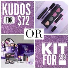 Kit VS kudos, more make for only $27 more PLUS the option to work this business or take advantage of free and discounted makeup FOR LIFE?! #younique #business #makeup #skincare