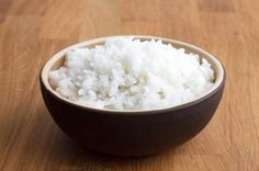 Cooking rice with coconut oil, then cooling can potentially cut calories in half!
