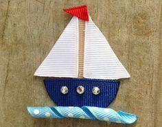 Pinwheel Hair Clip Garden Pinwheel Ribbon Sculpture by leilei1202