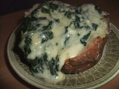 These creamy potatoes are stuffed with spinach, Parmesan cheese, garlic, cottage cheese and red onion. Cut potatoes in half lengthwise. Bake in a preheated 375 degree oven for 1 hour. Scoop out insides of the potatoes carefully, leaving skin intact Set the skins aside and mash the potatoes well. In a saute pan add the […]