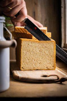 Vegan Baking, Bread Baking, Ciabatta, Cornbread, A Food, Health Fitness, Healthy Recipes, Healthy Food, Ethnic Recipes