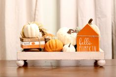 Fall Kitchen Decor, Fall Decor, Decorating Coffee Tables, Tray Decor, Coffee Bars, Staging, Lettering, Fall Crafts, Diy Crafts