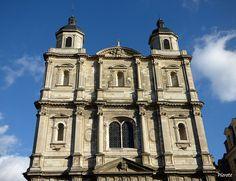 Église de Toussaints. Rennes. Bretagne