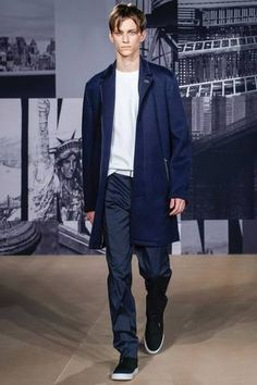 DKNY Spring 2015 Menswear Collection Slideshow on Style.com