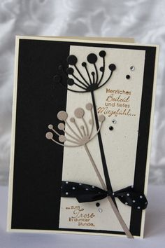 Polly kreativ - Trauerkarte