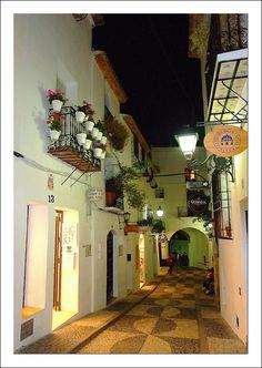Altea by night Alicante Spain Altea, Villas, Moraira, Barcelona Catalonia, Best Resorts, Gaudi, Study Abroad, Holiday Destinations, Wonders Of The World