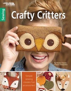 Christine Baker - Fairfield Road Designs and Christines Thrive Life: Sewing adorable wool felt animals