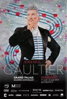 Jean Paul Gaultier au Grand Palais : Affiche.