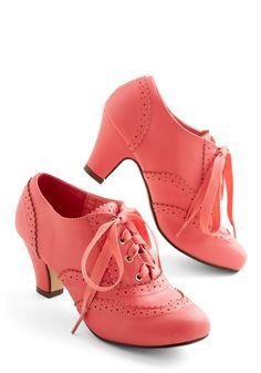 Dance Instead of Walking Heel in Pink, @ModCloth