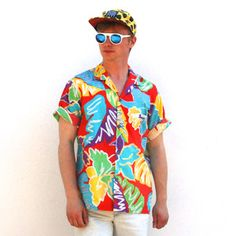 Hawaiian Wild Button Up II, $55, now featured on Fab.