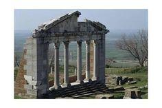 Giclee Print: Facade of the Bouleuterion at Apollonia, Albania : 24x16in