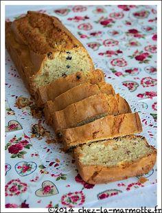 Cake aux raisins et au thé