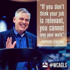 Global Leadership Summit 2013, Patrick Lencioni