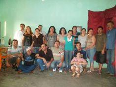 Família grande amo