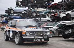 Saab rally 99.
