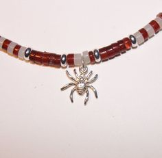 I love spiders! Please give them a chance. Show the love with this spider necklace.