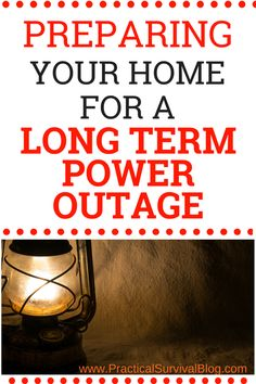 Make sure you are prepared for a long term power outage. These tips will help you stock up on the right supplies so you are ready for winter storms that might take out your power. Car Survival Kits, Emergency Preparedness Kit, Emergency Preparation, Survival Supplies, Emergency Supplies, Survival Prepping, Survival Shelter, Homestead Survival, Emergency Binder