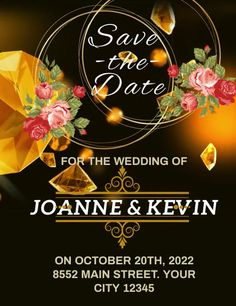 Customize this design with your video, photos and text. Easy to use online tools with thousands of stock photos, clipart and effects. Free downloads, great for printing and sharing online. Flyer (US Letter). Tags: invitation save the date wedding announcement, save the date, save the date wedding event flyer, wedding annoncement, wedding save the date flyers, Romantic, Wedding , Wedding Elegant Invitations, Wedding Invitation Templates, Wedding Invitations, Wedding Announcements, Wedding Save The Dates, Wedding Events, Special Occasion, Dating, Clip Art
