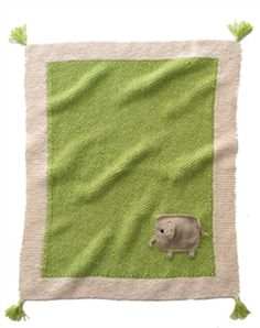 Bergere de France Babies Knitting Patterns Blanket Knitting Pattern 184.711