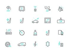 Instamotor Icons by Dmitri Litvinov #icon #car #picto