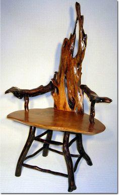 Beautiful driftwood furniture, Rhythmnbones.com /B.C. Canada