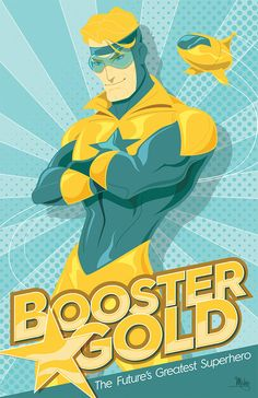 Booster Gold by Mike Mahle