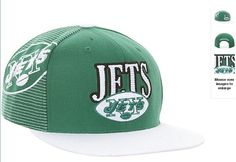 e1105775d69 NFL New York Jets Snapback Hats Caps Mitchell And Ness White Green  4668