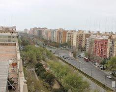 Avenida de Blasco Ibáñez en el año 1966, desde el colegio Nª Sª del Pilar. Fuente: Ministerio de Cultura de España. 2014-Ángel M. ...