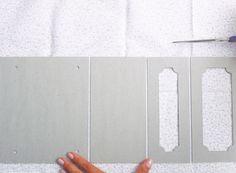 Caixa de chás com cartonagem - Portal de Artesanato - O melhor site de artesanato com passo a passo gratuito