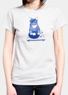 Brooklyn Industries Cat Scratch W - Graphic T-Shirt...Yup, totally getting this.