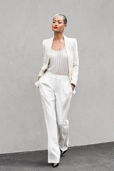 Micah Gianneli_Top fashion style blogger_Target editorial campaign_All white streetstyle_Missoni Danni Minogue Target